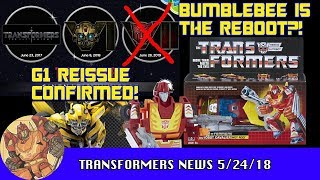 Bumblebee Movie: Prequel or REBOOT    or Both? | TF-Talk #156