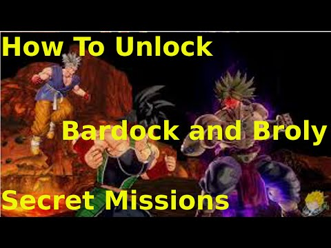 Dragonball Xenoverse: How To Unlock The Secret Bardock and Broly Missions