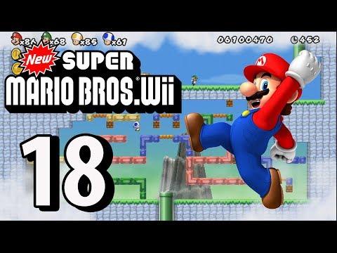 New Super Mario Bros. Wii - Part 18 (4 Player, 2018)