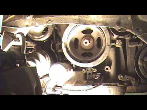 1995-2008 Nissan Maxima: PS pump belt replacement