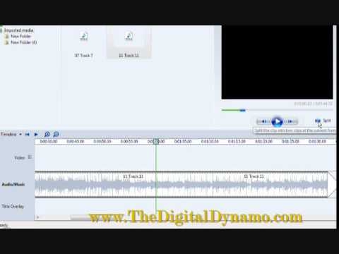 Windows Movie Maker Edit Fade with Music Part 3 DeeNice, The Digital Dynamo Channel