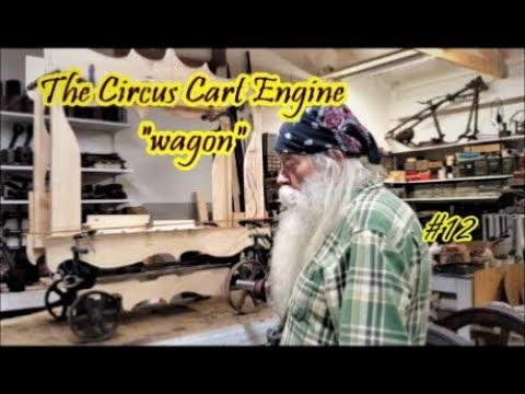 The Circus Cart Engine wagon design #12