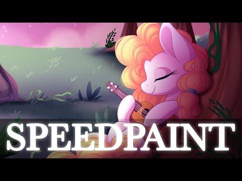 [C] Unconditional love pear butter - MLP Speedpaint