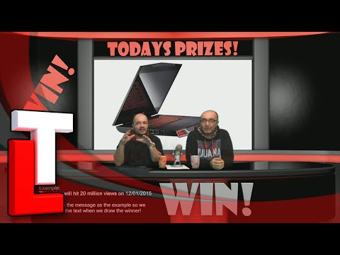 Win a Dell Alienware M17x Gaming Laptop Free - laptop giveaway on Tube Loot