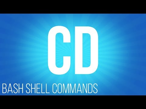 BASH Shell commands cd ( commands for linux )