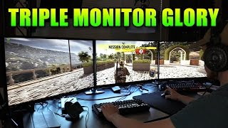 Triple Monitor Surround Gaming! | Ghost Recon Wildlands