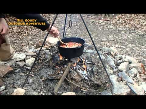 Campfire Cooking - Cabbage Soup - Dutch Oven