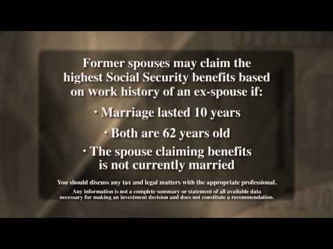 TIP 21 -  Divorce and Social Security