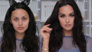 everyday natural glam makeup tutorial