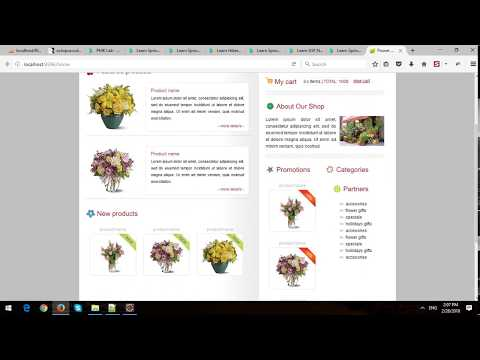 Building  eCommerce Store Using Spring MVC and Spring Data JPA in Spring Boot - Part 2 - Categories