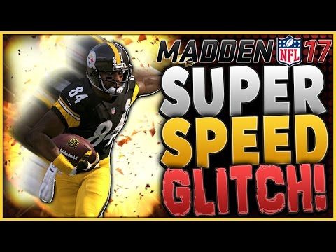 SUPER SPEED GLITCH!! | WILFORK IS FASTER THEN EVERYONE! | MADDEN 17 GLITCH