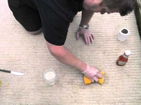 How to remove tomato ketchup stain