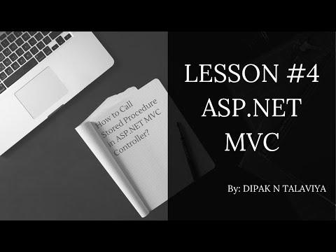 Call Stored Procedure in ASP.NET MVC Controller