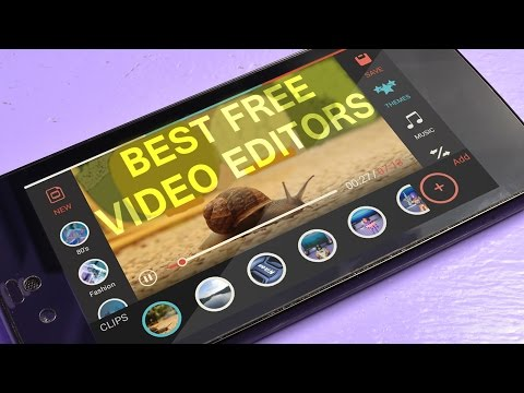 Best Video Editing Apps for Android (FREE)