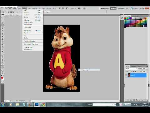 How To Delete BackGround in Photoshop CS5