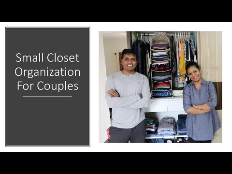 Small Shared Closet Organization For Couples| Siblings| Hostel Mates - Simplify Your Space