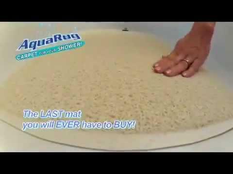 The Official Aqua Rug Bath Mat Commercial