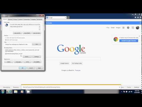 FIXIT Windows 7 tips tricks How to delete History and Cookies in Internet Explorer 11