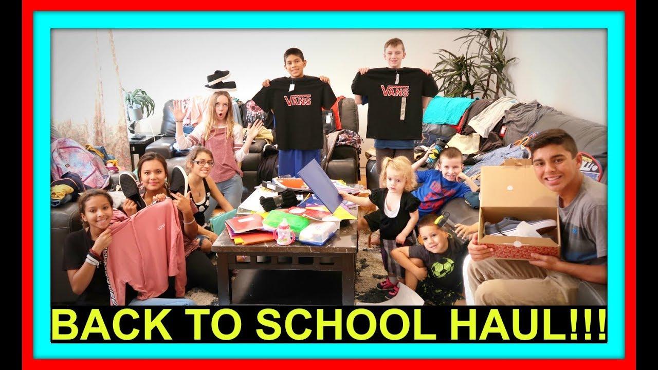 BACK TO SCHOOL HAUL | FASHION SHOW