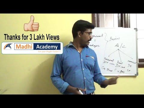 Basic Accounts in tamil