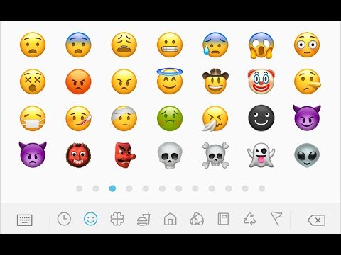 Get IOS 11 Emojis System Wide On Your Android Device Without Root! *2017*