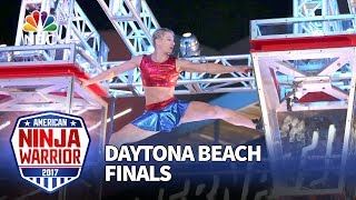 Jessie Graff at the Daytona Beach City Finals - American Ninja Warrior 2017