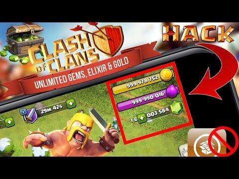Clash of Clans HACK !! Get 1 BILLION FREE GEMS, COINS & ELIXIR !! iOS 10 - 10.3.3 - NO JAILBREAK !!