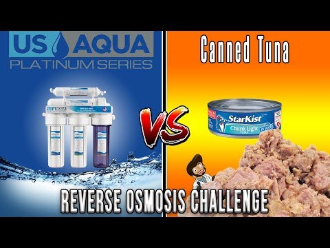FILTER OR FAIL! Canned Tuna Reverse Osmosis Water Filtration Challenge