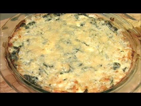 Homemade Spinach Dip - How to make HOT Spinach and Artichoke Dip