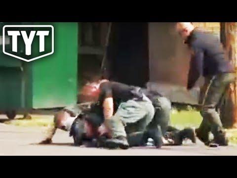 Cops Beat Disabled Man