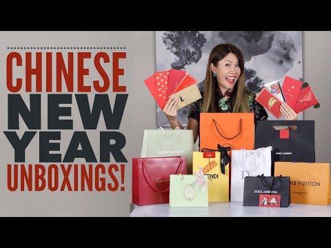 DESIGNER UNBOXINGS - CHINESE NEW YEAR   LV, HERMES, DIOR, FENDI & more