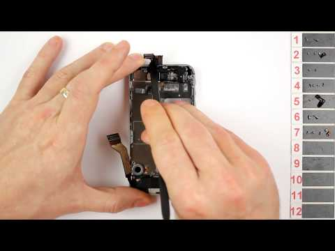 iPhone 4S Vibrator Replacement Disassembly and Reassembly - CRAZYPHONES