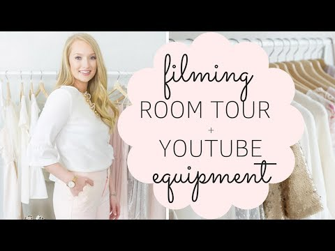 Youtube Equipment and Room Tour - Affordable lighting