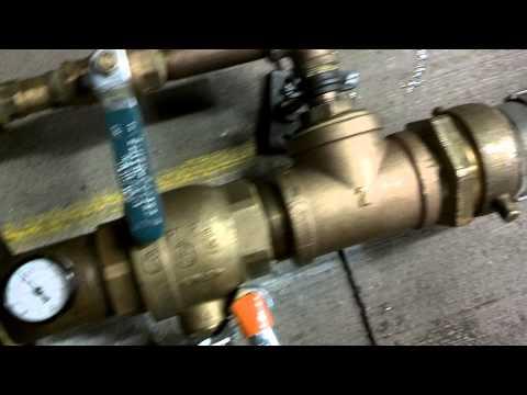 Meter Testing in a Parking Garage
