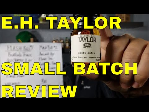 VIDEO 9 BEGINNERS GUIDE TO DRINKING WHISKEY E.H. TAYLOR SMALL BATCH REVIEW