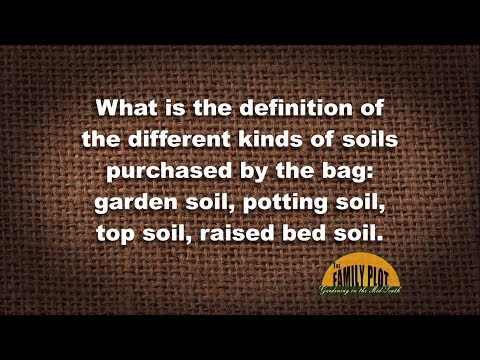 Q&A – What is in bagged soil?