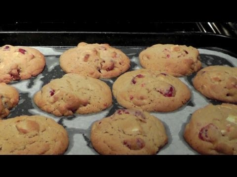 COOKIES with Chocolate & Cherries How to Make recipe