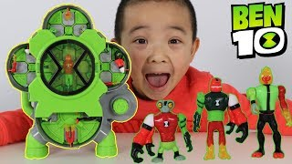 NEW BEN 10 Toys Alien Creation Chamber Unboxing Fun With CKN Toys
