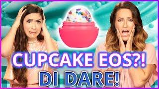 DIY CUPCAKE EOS?! Di Dare w/ Cassie Diamond & Adrienne Finch