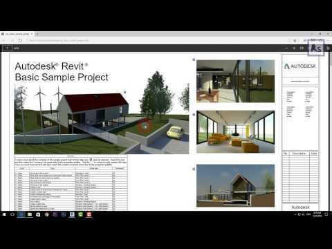 Revit 2017 tutorials-How to print PDF in Revit