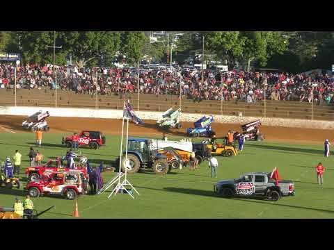 NZ vs Usa Sprintcar Test