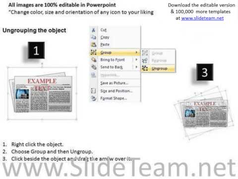 editable newspaper layouts powerpoint slides and ppt clipart graphics