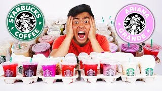 Download I Ordered Every Drink From STARBUCKS (Pinkity Drinkity) Video