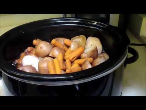 How To Make Crockpot Pot Roast