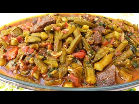 How to Make Bemieh or Bamia (Okra Stew)