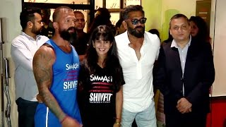Suniel Shetty Launches Smaaash Shivfit GYM