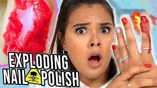 I Tried Dangerous Beauty Products: Exploding Nail Polish + Fashion Nova Shapewear!