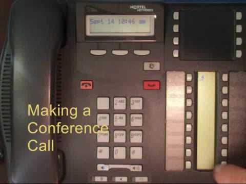 Nortel Phones - Conference Calls