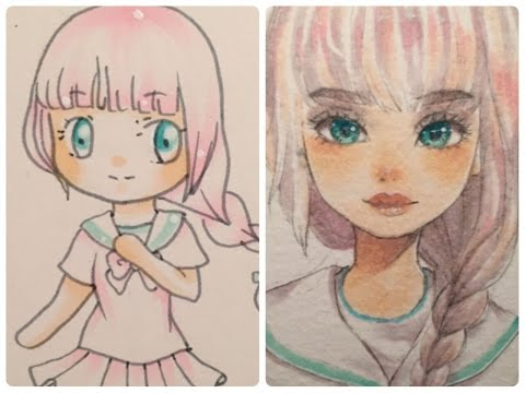 redrawing my old art (2013-2017)