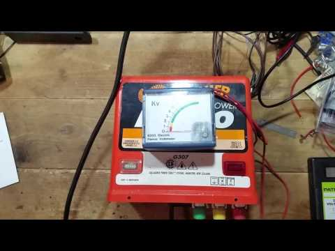 Gallagher M800 Electric Fence Charger - Test
